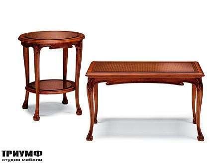 Итальянская мебель Medea - Стол журнальный с ящиком, арт. 198