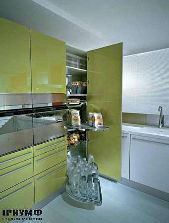 Итальянские кухни Pedini - Кухни Q2 System угловая колонна
