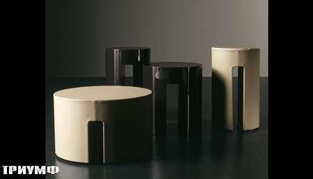 Итальянская мебель Meridiani - столики круглые Gong