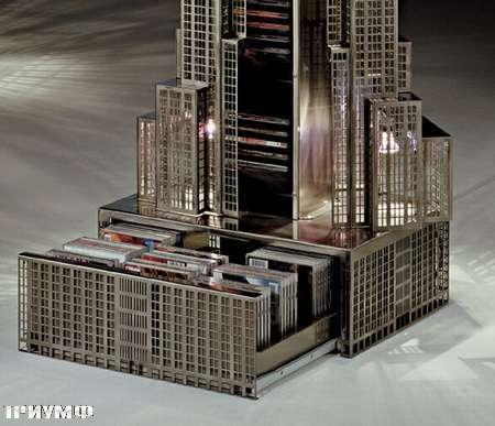Итальянская мебель Vismara - башня под диски