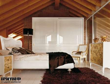 Итальянская мебель Luciano Zonta - Notte Letti кровать Elisir