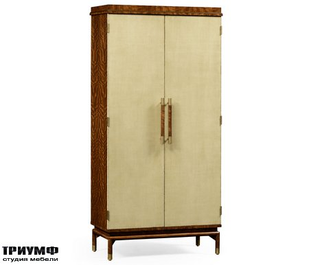 Американская мебель Jonathan Charles - Hyedua And Celadon Tall Drinks Cabinet