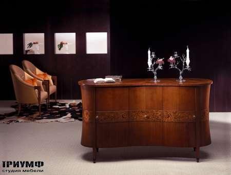 Итальянская мебель Carpanelli Spa - Комод Godet Zebrano CR18