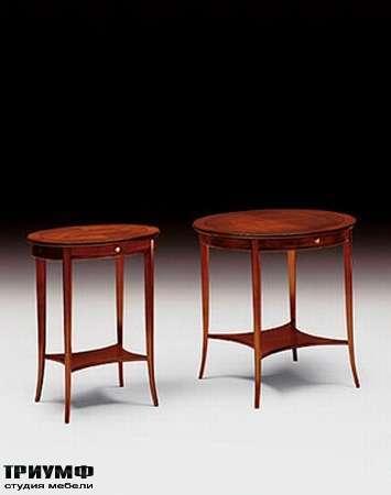 Итальянская мебель Medea - Стол журнальный круглый, арт. 316 N