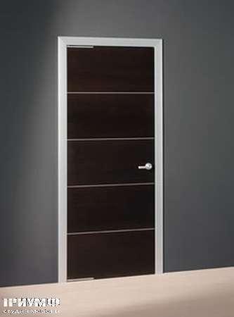 Итальянская мебель Longhi - Дверь распашная Striped с разделителями