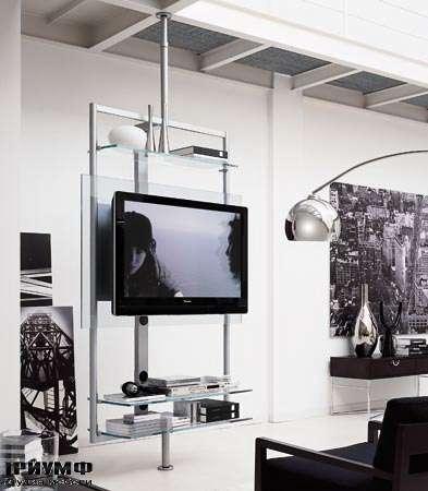 Итальянская мебель Porada - Панель под плазма ТВ ubiqua