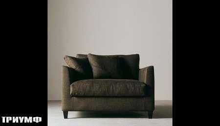 Итальянская мебель Meridiani - кресло Бисет широкое