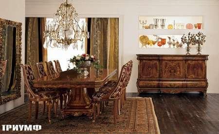 Итальянская мебель Grilli - Стол прямоугольный, раздвижной, комод