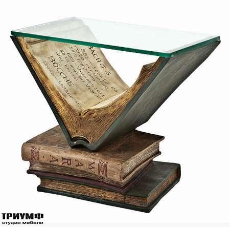 Голландская мебель Eichholtz - стол side old books
