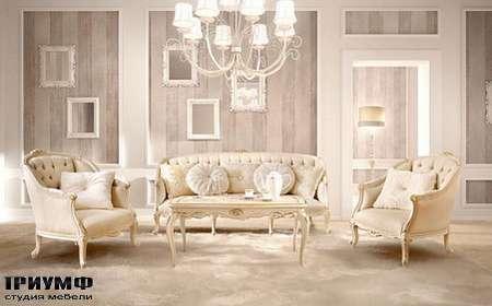 Итальянская мебель Signorini Coco - forever Диван арт.9534. Кресло арт.9536