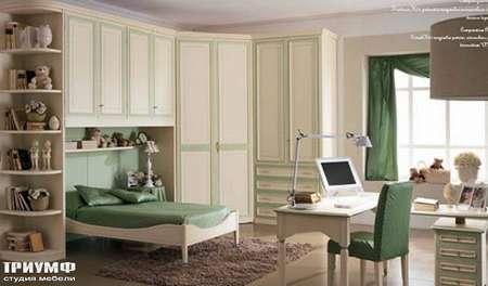 Итальянская мебель Ferretti e Ferretti - Детский кабинет, из массива дерева happy night