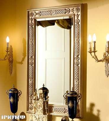 Итальянская мебель Colombo Mobili - Зеркало в имперском стиле арт.388.2 кол. Salieri