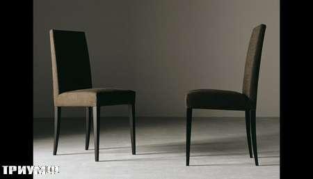 Итальянская мебель Meridiani - стул Diaz uno ткань, венге