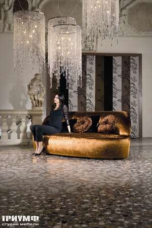 Итальянская мебель Noir Cattelan Italia - Диван Botero