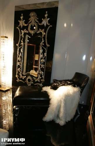 Итальянская мебель Cornelio Cappellini - Лежанка в коже, пуховой плед