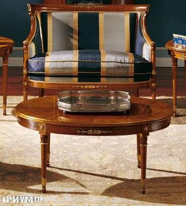 Итальянская мебель Colombo Mobili - Столик в имперском стиле арт. 118.2 кол. Puccini