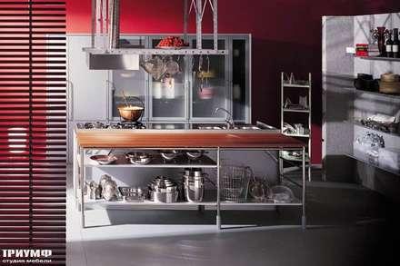Итальянская мебель Driade - Кухня из металла