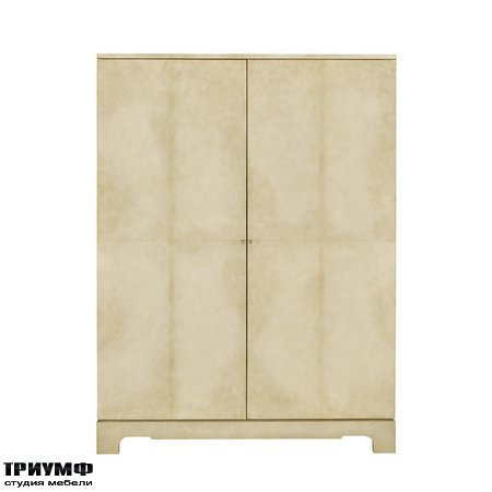 Американская мебель Ralph Lauren Home - BEAUWORTH PARCHMENT CABINET