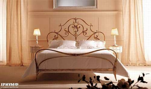 Итальянская мебель Giusti Portos - Спальня с прикроватными столиками Desires