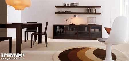 Итальянская мебель Map - Комод Fly четырех дверный