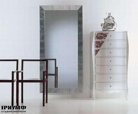 Итальянская мебель Moda by Mode - Комод высокий неделька с ящиками Set