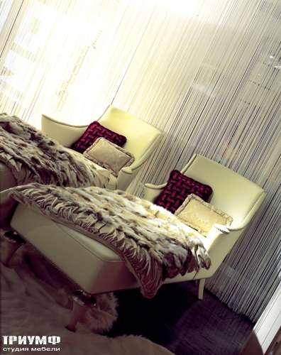 Итальянская мебель Cornelio Cappellini - Лежанка в ткани, удлинённая