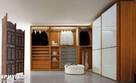 Итальянская мебель Pianca - Гардеробная Sipario с раздвижными дверьми