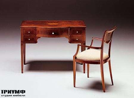 Итальянская мебель Medea - Стол рабочий для кабинета с ящиками