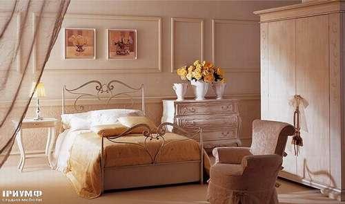 Итальянская мебель Giusti Portos - Односпальная кровать Ducale
