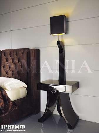 Итальянская мебель Smania - Композиция - тумба Pigreco - лампа Necktie