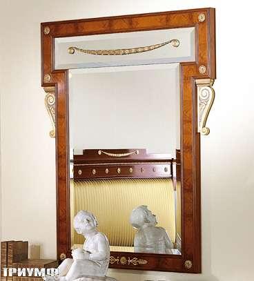 Итальянская мебель Colombo Mobili - Зеркало кол. Bellini в имперском стиле мод.399
