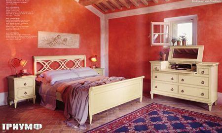 Итальянская мебель Tonin casa - кровать с резным изголовьем