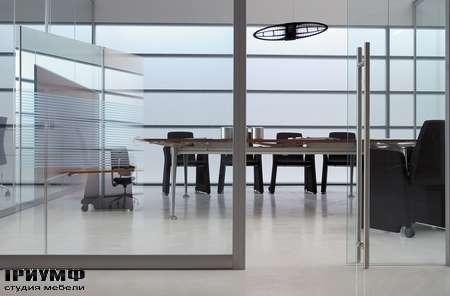 Итальянская мебель Frezza - Рабочая зона, коллекция Areaplan Kristal