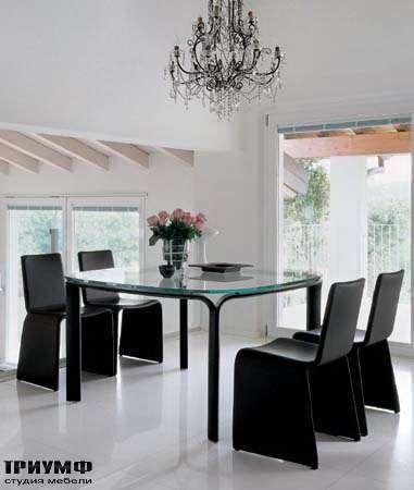 Итальянская мебель Porada - Обеденная группа vertigo