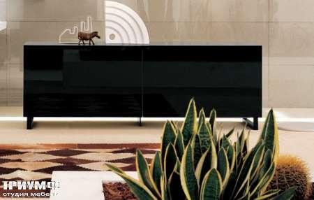Итальянская мебель Map - Комод в черном глянцевом лаке
