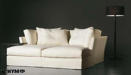 Итальянская мебель Meridiani - лежанка Quinn deco