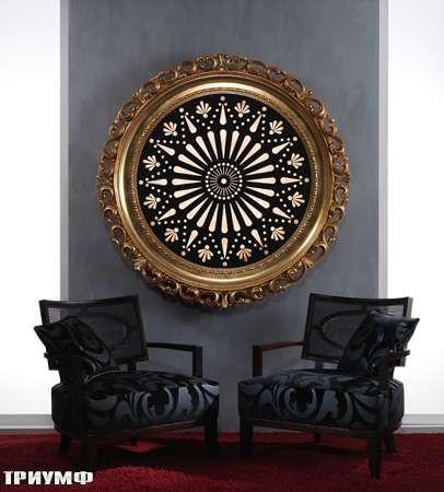 Итальянская мебель Vismara - панно с подсветкой shining baroque