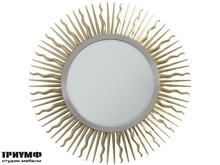 Американская мебель Chaddock - Golden Eye Round Mirror
