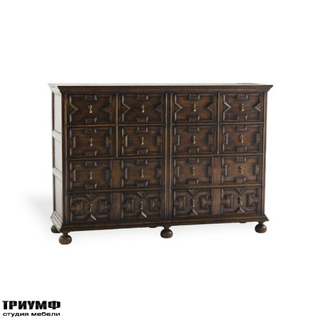 Американская мебель Ralph Lauren Home - JACOBEAN DOUBLE CABINET