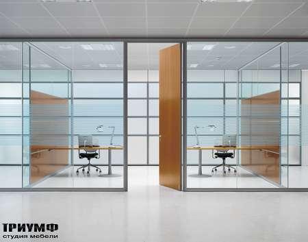 Итальянская мебель Frezza - Раздельные рабочие места, коллекция Areaplan Kristal