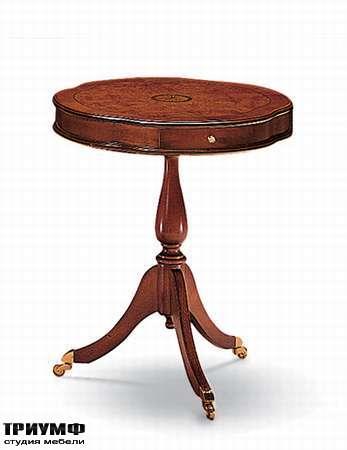 Итальянская мебель Medea - Столик передвижной круглый, арт. 700