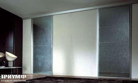 Итальянская мебель Longhi - Раздвижная перегородка Spark металл