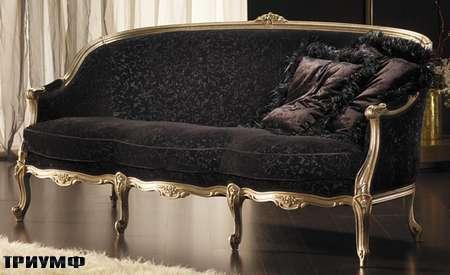 Итальянская мебель Goldconfort - диван Aramis в золоте