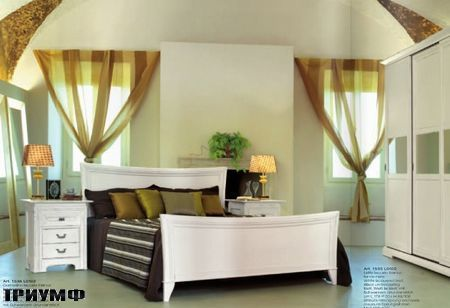 Итальянская мебель Tonin casa - спальня из дерева
