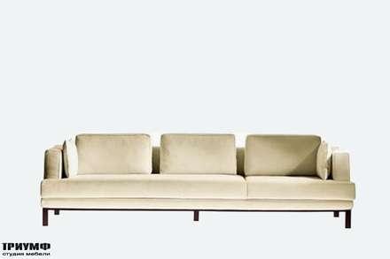 Итальянская мебель Driade - Диван на ножках, ткань