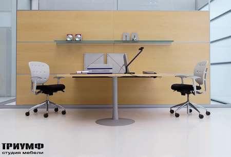 Итальянская мебель Frezza - Сдвоенное рабочее место, коллекция Areaplan Kristal