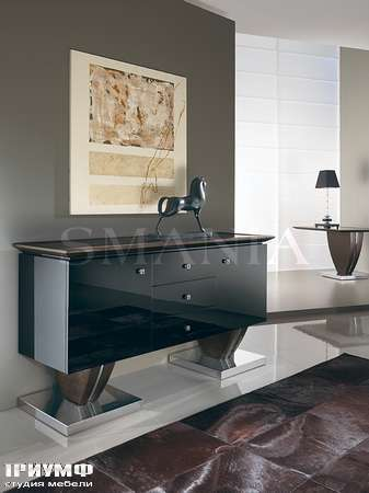 Итальянская мебель Smania - Креденция Black Stone