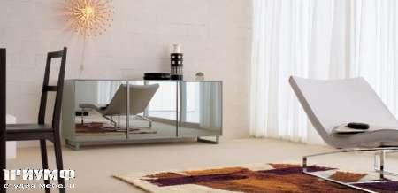 Итальянская мебель Map - Комод с 3 дверьми зеркальный