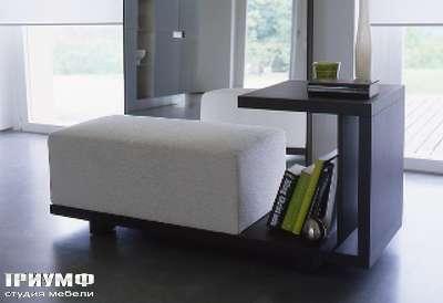 Итальянская мебель Longhi - пуф со столиком imdrin