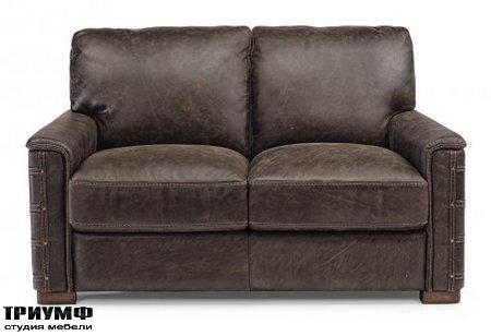 Американская мебель Flexsteel - Lomax Leather Loveseat
